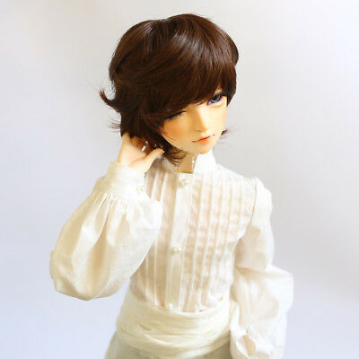 Fashion Short Curly Hair Wig Hairpiece for 1/3 BJD SD DZ DOD LUTS Doll Accs