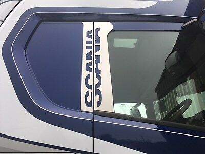 Scania S & R Series 2016+ Stainless Steel Door Post Cover Next Generation
