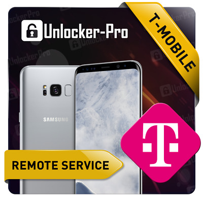 Samsung T-Mobile Remote Device App Unlock Service Note 9 S9 S9+ S8 S8+ Note 8