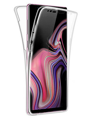 SDTEK Samsung Galaxy Note 9 Case 360 Full Cover Silicone Front + Back