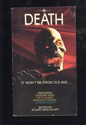 Death Edited Stuart David Schiff Playboy Press #21107 1982 1st PBO Horror VG+