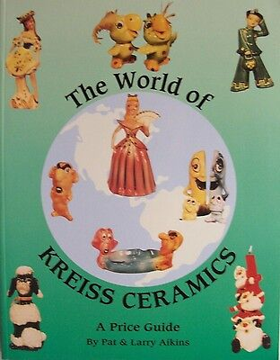 Vintage Kreiss Figurines Price Value Guide Collector's Book NEW CONDITION