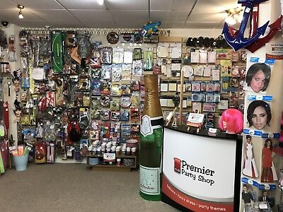 Party/Fancy Dress Business shop Websites with over £35K + stock