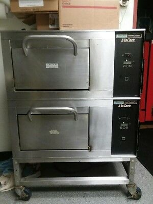 Lincoln 1901-000-D Double Stack Pizza Ovens 208V Single Phase