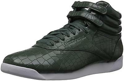 Reebok Womens crackle Hight Top Lace Up Baseball Shoes