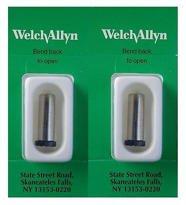 Welch Allyn 03000-U6 3.5 V Halogen Lamp for Ophthalmoscopes Box of 2 (Torn Box)