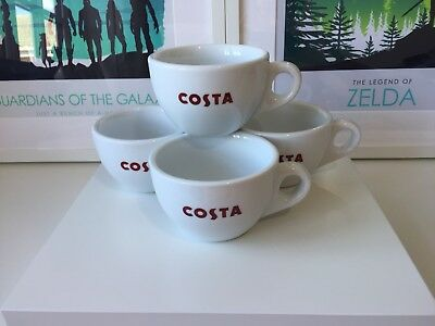 613fdf13296 COSTA COFFEE CERAMIC Cup and Saucer Gift Set For 2 - brand new ...