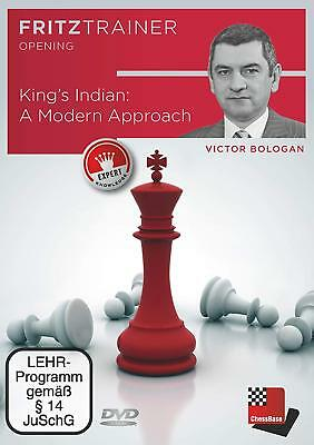Chessbase Fritz Trainer Opening-King's Indian:  A Modern Approach [DVD]