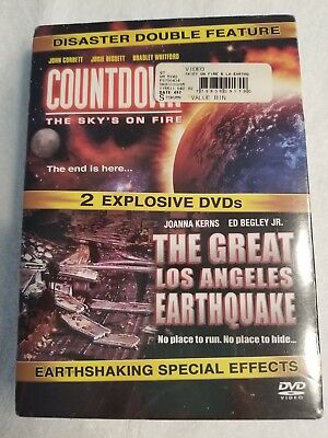 disaster double feature countdown the great los angeles earthquake