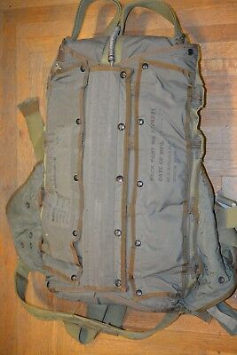 US Military 28 FT C-9  Back Pack Parachute Dated 1952 Pioneer Parachute Co.