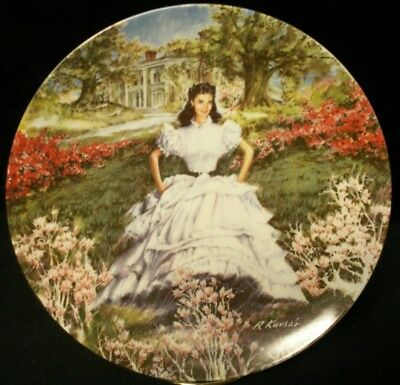 "Gone With The Wind ""SCARLETT "" 8in Plate"