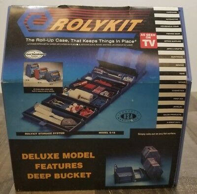 NEW Rolykit Storage System Deluxe Model S-18 As Seen On TV