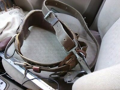Buckingham Climbing Belt - SIZE 24-P/N 1902 with safety D ring bl