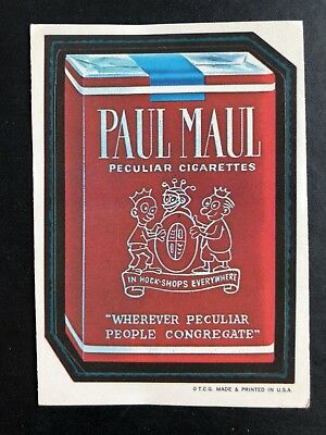 1973 Topps Wacky Packages Original 1st Series PAUL MAUL BLACK LUDLOW Very Rare