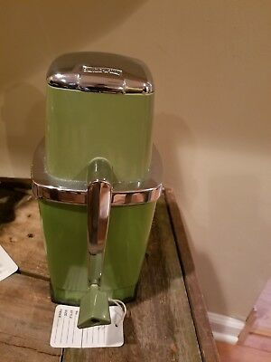 vintage green ice crusher