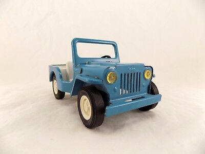 Vintage 1960's TONKA Jeep Runabout Pressed Steel Toy