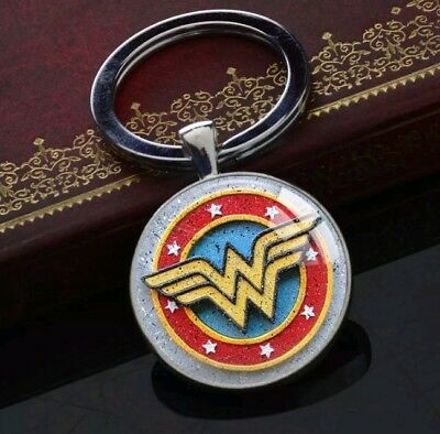 Wonderwoman wonder woman Superhero Key Chain Key Ring jewelry keychain keyring