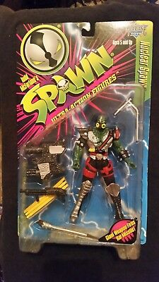 Spawn Nuclear Spawn Action Figure With Weapons From McFarlane Toys NEW t1362