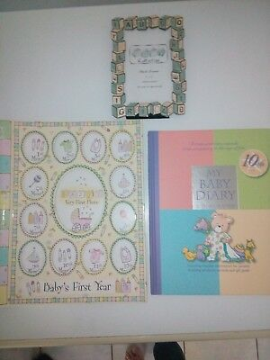 My baby Diary & Baby first year memory folder