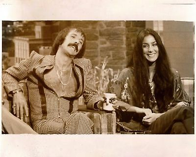 Sonny And Cher Vintage  8x10 Photo Print