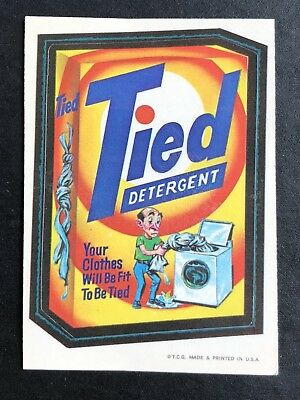 1973 Topps Wacky Packages Original 1st Series TIED BLACK LUDLOW Very Rare