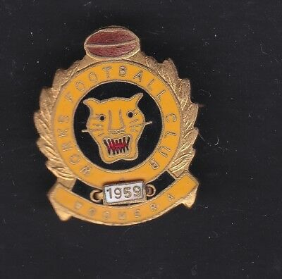 Woomera Works  1959 Football Club badge