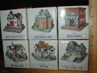 The American Collection-Lot of Five (5) Houses/Stores