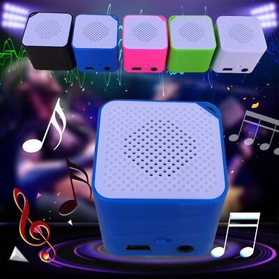 Mini Cube Magic Media MP3 Music Player W/Speaker USB Support TF Card