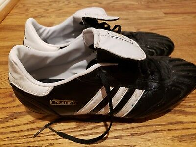 1bd7f96fa ADIDAS TELSTAR SIZE 11 black   white soccer cleats -  69.00