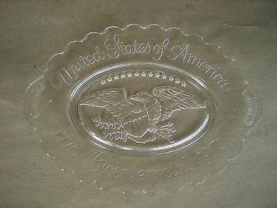Avon United States of America Bicentinnial Plate with Eagle