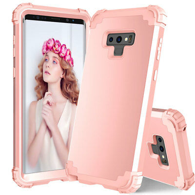 Shockproof Heavy Duty Armor Case for Samsung Galaxy Note 9/S9 Plus Hybrid Cover