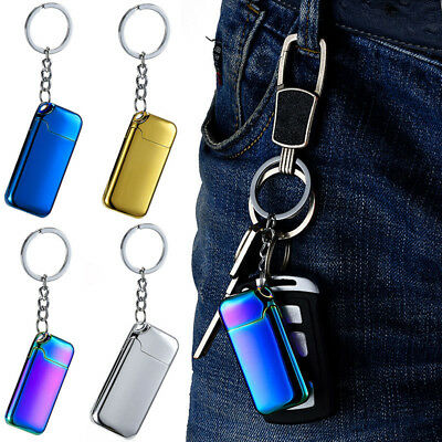 Windproof Flameless USB Dual Arc Lighter Rechargeable Electric Lighter Portable