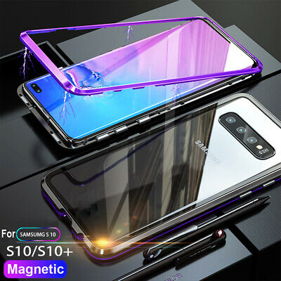 Magnetic Adsorption Case for Samsung Galaxy Note 9 /S8 S9 Plus Hard Bumper Cover