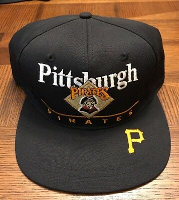 f50cc64bee570 ... best price vintage pittsburgh pirates hat snapback cap mens 90s mlb  baseball twins 738d4 cde75