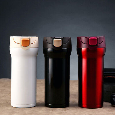 Double Layer Stainless Steel Vacuum Cup Coffee Thermal Bottle Gift Non-slip
