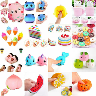 Slow Rising Stress Relief Squishies Toys Squishy Squeeze Aid Great Toy Kawaii