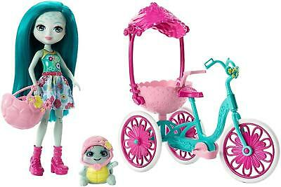 Enchantimals Built for Two Taylee turtle and Bounder tricycle play set