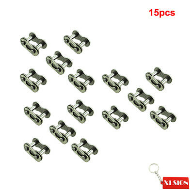 15Pcs 428 Chain Master Link Clips For Chinese ATV Quads Go Kart Moped Scooters