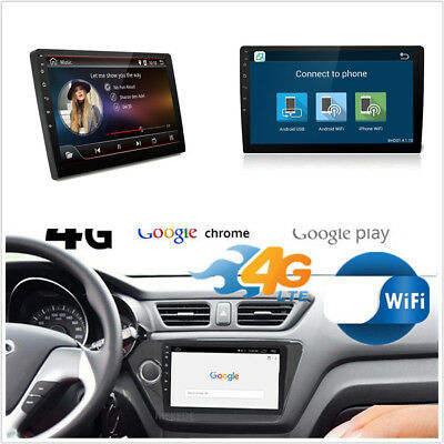"10.1"" HD 2G+32G Android 6.0 Autos Stereo Radio LTE BT MP5 Player GPS 4G DAB OBD"