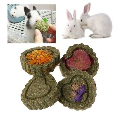 2pc petits animaux meulage dents gâteau biscuits animaux lapin chinchilla cobaye