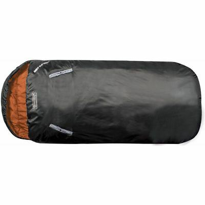 Highlander Adult Sleephuggerzs 250 Season Fleece Lined Sleeping Bag