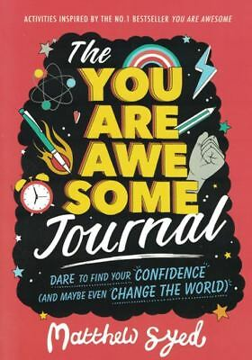 The You Are Awesome Journal by Matthew Syed NEW
