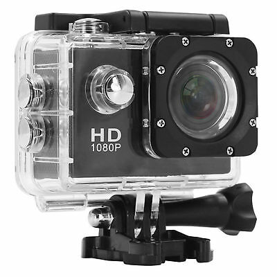 2019 ACTION CAMERA SPORT WATERPROOF ULTRA HD 1080P MINI STYLE NOIR FRA 2 Pouces