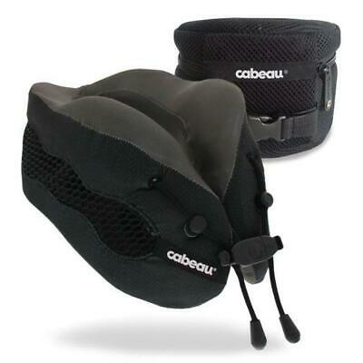 New Cabeau Evolution Cool 2.0 Memory Foam Neck Travel Pillow - Black