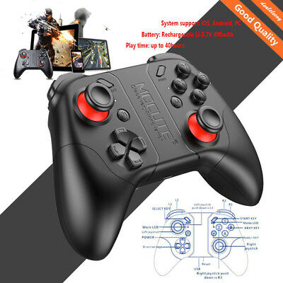 Mocute 053 Bluetooth Gamepad Wireless Controller Remote for VR Game TV BOX PC H1