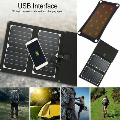 20W 5V 2A Foldable USB Solar Charger Solar Panel Power Charger For Smartphones