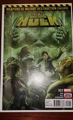 Totally Awesome Hulk #22 First Appearance of WEAPON H 1st Print
