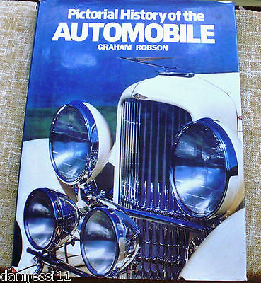 Pictorial History of the Automobile/ Graham Robson/ Bison Books/ 1987