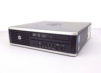 HP 8300 Elite USDT PC: i5-3470S CPU, 8GB RAM, 500GB HD, Windows 10, WiFi, No PSU