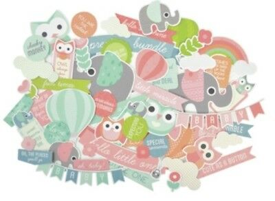 Kaisercraft Little One Collectables Die Cuts Scrapbooking Card Making 50+